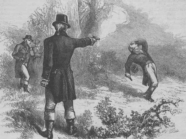 Burr-Hamilton-Duel