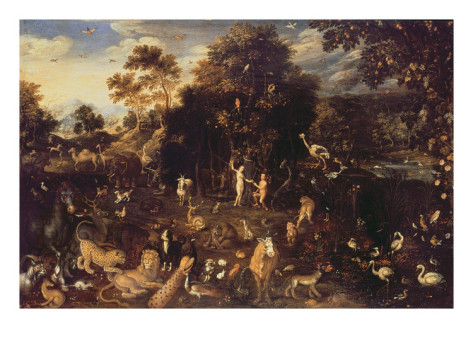 isaak-van-oosten-the-garden-of-eden-with-adam-and-eve-oil-on-canvas