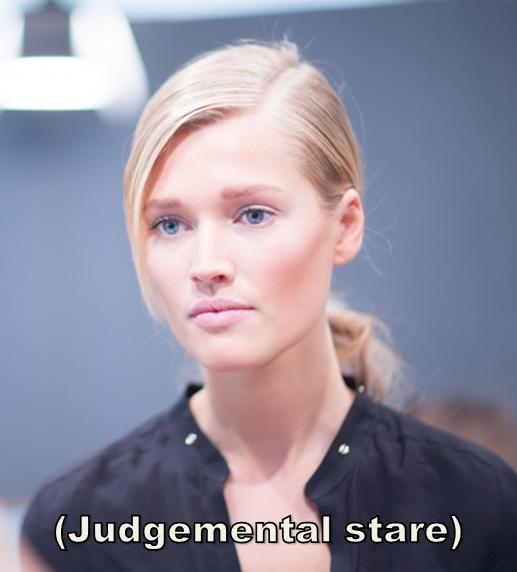 judgementalstare