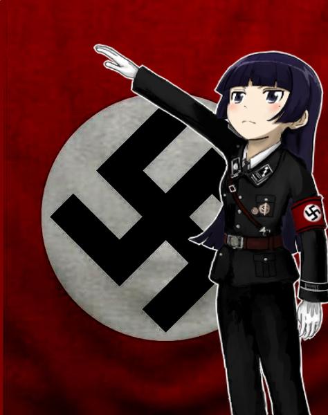 proud nazi girl
