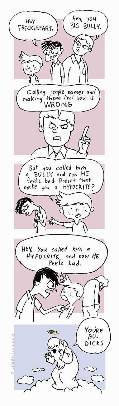 bulliesAndHypocrites