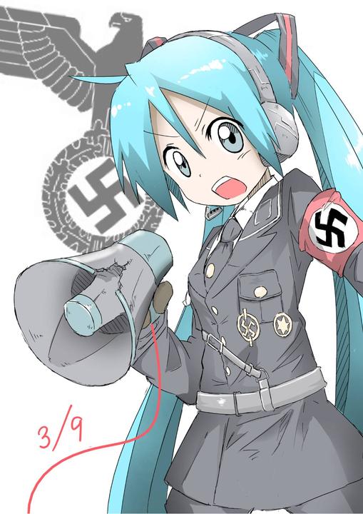 bluehairMegaphoneNazi