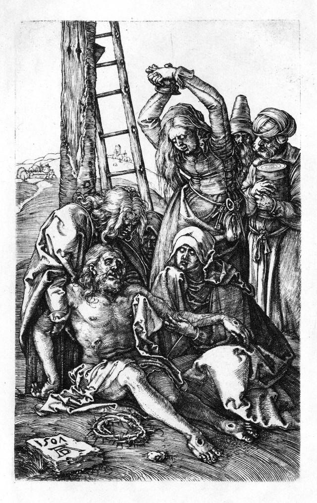 Dürer,_Kupferstichpassion_12,_Kreuzabnahme