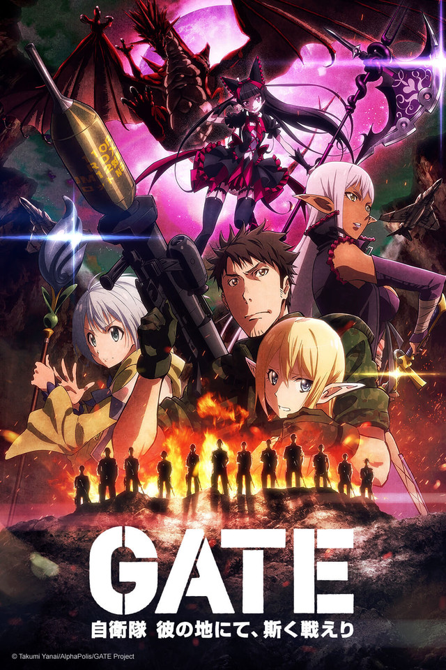 Gate-Anime-Poster