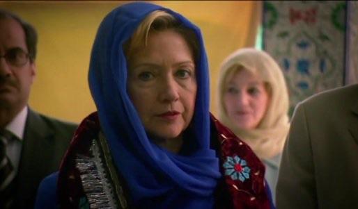 clintonInAHeadScarf