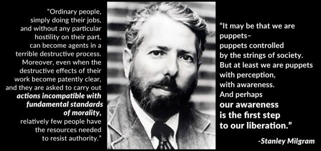 stanley milgram summary Milgram, stanley, the perils of obedience , harper's, 247:1483 (1973:dec) p62.