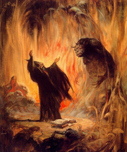 frazetta-demon-summon